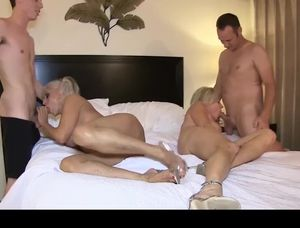 Homemade mature orgy