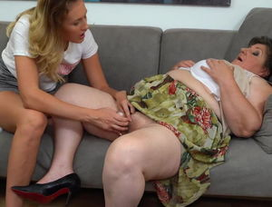 Lesbian moms seducing daughters