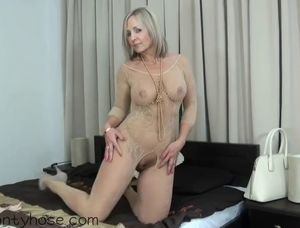 Nude body stocking