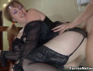 Son fucks mom ass