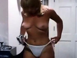 Hot mom strip